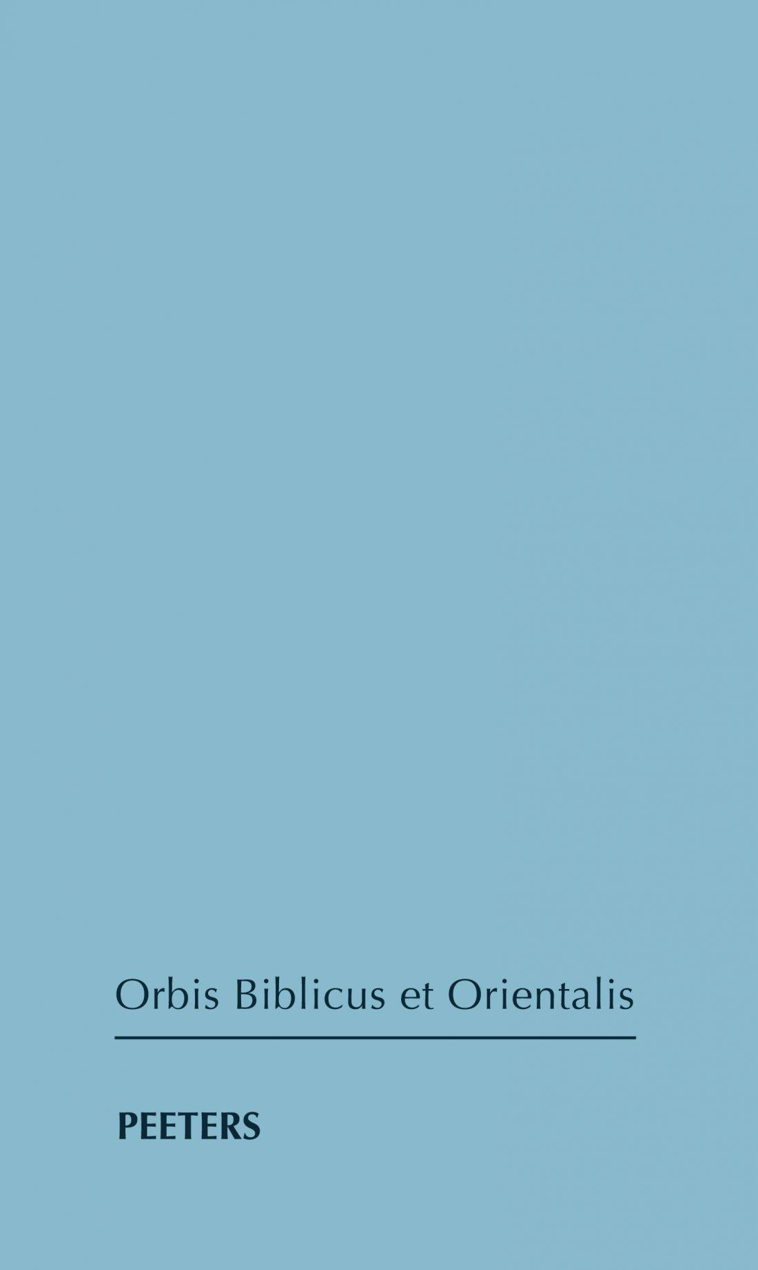 OBO_Peeters Publishers